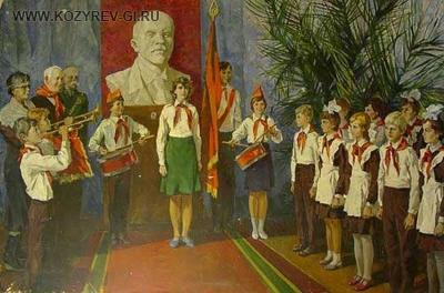 Об идеологическом воспитании в СССР